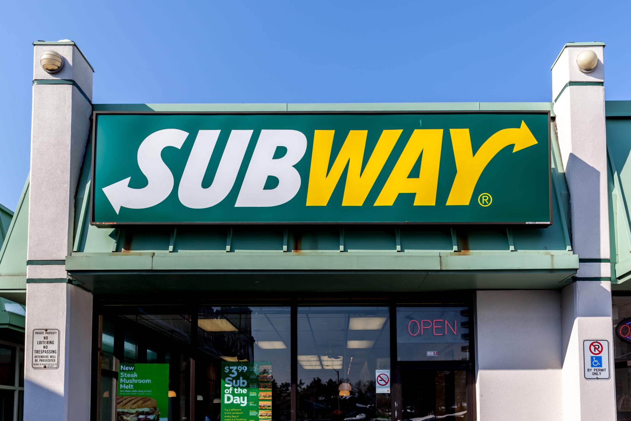 Subway Menu Prices in Canada - February